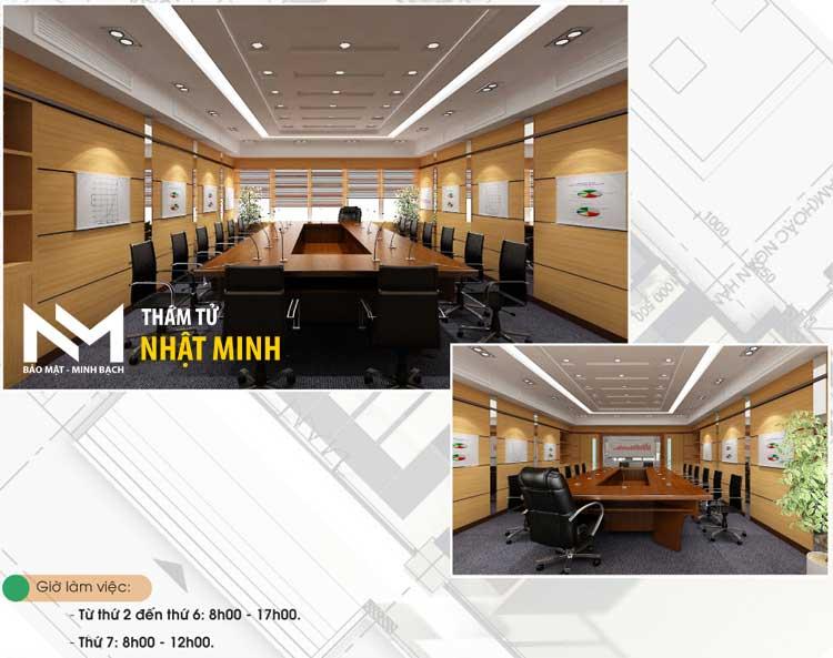 Phòng họp tại Văn Phòng thám tử Nhật Minh ☎ 0906.226.289 #thamtu #thamtutu #thamtunhatminh