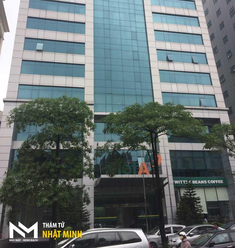 Tòa nhà văn phòng thám tử tư Nhật Minh tại Hà Nội - Thám tử Nhật Minh ☎ 0906.226.289 #thamtu #thamtutu #thamtunhatminh